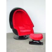 Eierhocker Schwarz (ohne Sessel)