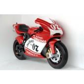 Rotes Racingbike Orginalgröße