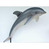 Delphin springend auf Ständer