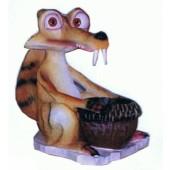 Großes Säbelzahneichhörnchen mit Eichel Scrat