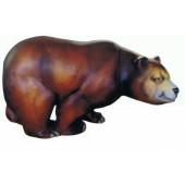 Laufender Braunbär