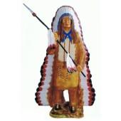 Indianerhäuptling mit Sperr