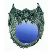 Wandspiegel mit Drachen