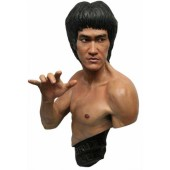 Bruce Lee Büste - Traditional Black Version 1/1