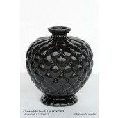 Vase Chesterfield schwarz