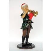 Weihnachtself mit Trompete