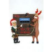 Lustiger Weihnachtsrelief mit Countdownfunktion