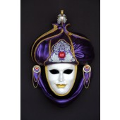 Maske Saracino Lila