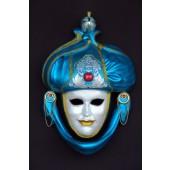 Maske Saracino Blau