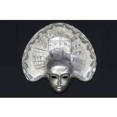 Maske Laguna Silber