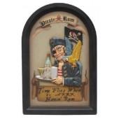 Piratenschild Pirate-Rum