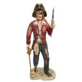Piratenskelett mit Pistole