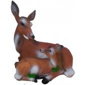 Reh mit Kitz