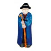 stehender Hirte mit blauem Mantel klein
