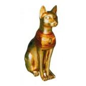 goldene große ägyptische Katze