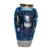 ägyptische Vase blau