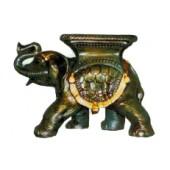 laufender Elefant klein mit Ablage