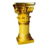 goldene Säule mit Schneckenkapitell