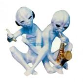 musizierende Aliens