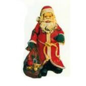 Weihnachtsmann mit Sack voller Spielzeugen