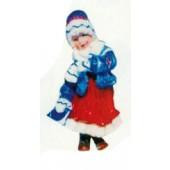 Winterkind Mädchen klein