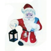 Weihnachtsmann mit Laterne klein