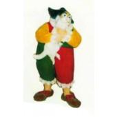 dicker Clown mit Hund klein