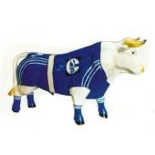 Schalke 04 bemalter Bulle