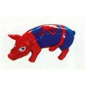 Spiderschwein Schwein im Spidermanoutfit