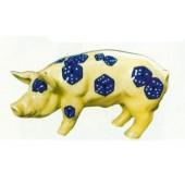 Schwein klein mit Würfeln