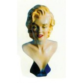 Marilyn Monroe als sexy Büste