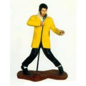 singender Elvis am Mikrofon klein