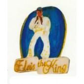 Elvis the Kind als Wandschild
