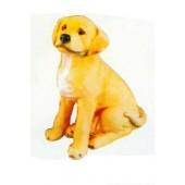 Labrador Welpen sitzend