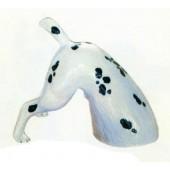 Dalmatiner gräbt Loch
