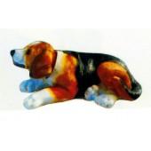 Beagle liegend