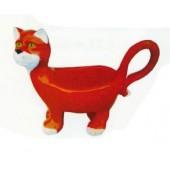 Katze braun als Gefäß