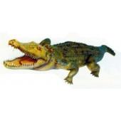 großes Krokodil mit offenem Maul