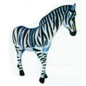 Zebra lebensgroß