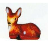 kleines liegendes Bambi Reh Variante 2