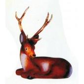 kleiner Hirsch liegend