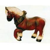 kleines Arbeitspferd