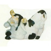 lustige Kuh Po oben