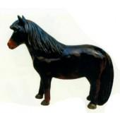 Pony dunkelbraun