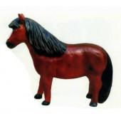 Pony hellbraun