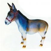 stehender Esel