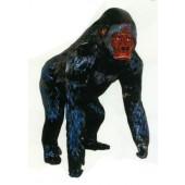 großer schwarzer Gorilla Affe