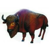 lebensgroßes Bison