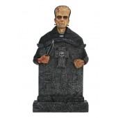 Monster Frankenstein Grabstein mit Kreuz (Variante 2)
