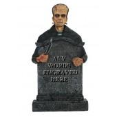 Monster Frankenstein Grabstein mit Wunschbeschriftung